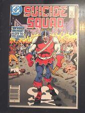 Suicide Squad #4 1987 Canadian Price variant HTF 1987 Deadshot Enchantress VF