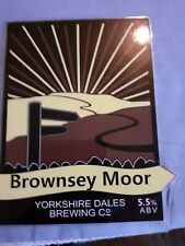 Yorkshire dales brewery pump clip