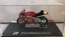 "DIE CAST "" APRILIA RSW125 MIRKO GANDHI 2004 "" MOTO GP SCALE 1/24"