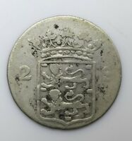 1774 Netherlands Two 2 Stuivers - Lot 19