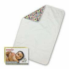 Super Absorbent Daffadoot Baby Changing Pad Liner Washable Hypoallergenic