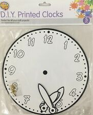 Learning Tell The Time Children/'s Early Hibou Horloge Enfants Horloge Nombre Comptage NEUF