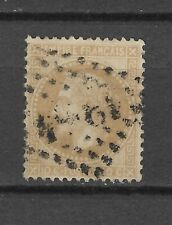 1850 's -1870 's  FRANCE 10 CENT USED STAMP PERF