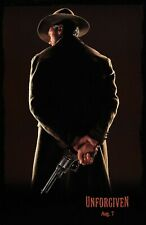 """Unforgiven movie poster (a) - 11"""" x 17"""" inches - Clint Eastwood, Gene Hackman"""