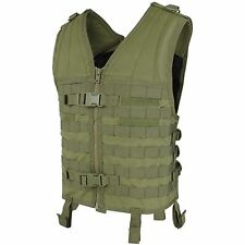 Condor MV Tactical MOLLE PALS Modular Hunting Cross Draw Quick Release QR Vest