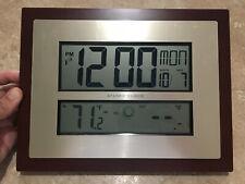 2 Atomic clocks La Cross Technology W86111 Used
