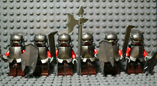LEGO Lord of the Rings URUK-HAI Minifigures Lot of 6  (9471)
