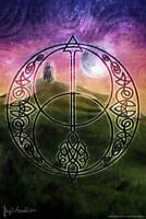 Celtic Sacred Space by Brigid Ashwood Art Print Poster 24x36 inch