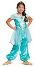 Jasmine Classic Girls Toddler Aladdin Disney Princess Halloween Costume-3T4T