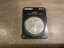 2020 United States American 1 oz Silver Eagle n APMEX TEP Tough Date
