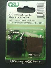 ↯ ISO Steckergehäuse - Strom + Lautsprecher 8 polig ↯