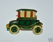 Vintage Old Fashioned Crank Car Automobile Pin Pinback