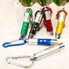 Hi Mini 3 in 1 Laser Pointer Pen LED Light Kids Cats Toy Money Detector Keychain