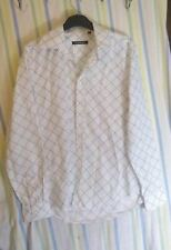 Mens Topman Shirt White Size Medium Quality Casual
