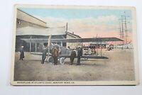 Vintage Monoplane Newport VA Early 1900s Un-posted Antique Postcard Collectible
