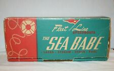Fleet Line Sea Babe Vintage Box Only - For Battery Powered Speedboat Toy - Boat