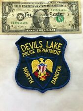Devils Lake North Dakota Police Patch un-sewn in great shape