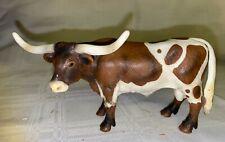Retired Schleich Cow Texas Longhorn Bull 2002 Farm Animal Figurine 13275 Farm