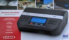 Maxx Digital Automatic Alert / Noaa Weather Radio With Alarm Clock