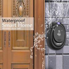 Wireless Digital LED Doorbell Door Bell 36 Chimes 1 Remote 1 Receiver Waterproof