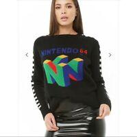 Women's Nintendo 64 sweater Size Small (like new)
