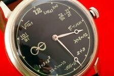 Mathematics vintage Russian USSR unique enormous scientific watch Math 1970's