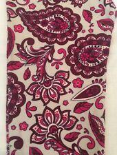 NWT LuLaRoe OS Ivory Magenta Fuchsia Floral Paisley Leggings Pink Scroll