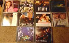 Lot of 10 Assorted Pop / Motion Picture Soundtrack CDs - Bette Midler  Seal +