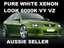 Monaro Berlina Calais VY VZ  XENON HID Look 6000K Headlight Light Bulbs VY VZ