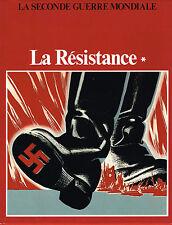 livre; collectif: la seconde guerre mondiale: la résistance. christophe colomb