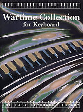 The Easy Keyboard Library Wartime Pub Piano Songs Learn to Play Music Book