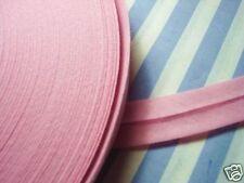 100m Baumwoll-Schrägband gefalzt rosa 40/20mm