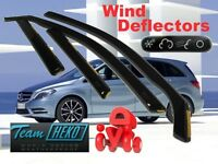MERCEDES B CLASS W246  2011 - 2014  Wind deflectors 4.pc set  HEKO 23278