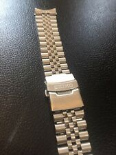 Beautiful SEIKO 22mm  Jubilee Stainless Steel Watch Strap / Bend BARGAIN!