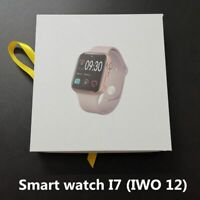 IWO 12 i7 Smart Watch Bluetooth Smartwatch Series 5 For Samsung IOS Apple Clock