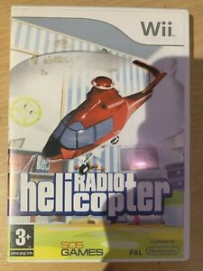 Radio Helicopter for Nintendo Wii Video Game