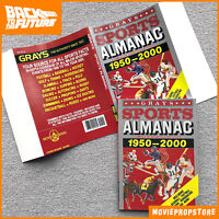 BACK TO THE FUTURE Grays SPORTS ALMANAC with dust cover Movie Prop