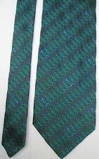 -AUTHENTIQUE cravate cravatte MOSCHINO 100% soie  TBEG  vintage