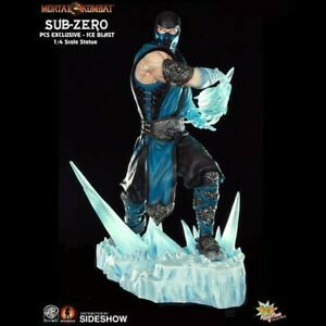 Pop Culture Shock Mortal Kombat 1:4 scale MK9 Sub-Zero 177/250  Exclusive Statue