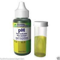 General Hydroponics GH pH Test Indicator Control Kit 30 ml - up down 1 Ounce