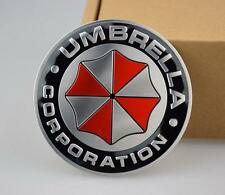 DZ817 Metal 3D Resident evil Umbrella corporation car Badge Emblem Car sticker