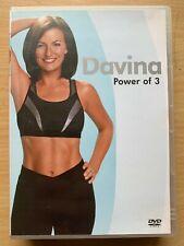 Davina Power of 3 DVD Exercise Heath Fitness Routines