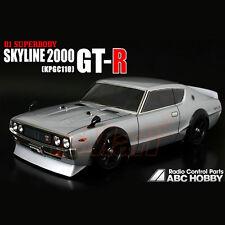 ABC Hobby NISSAN Skyline 2000GT-R KPGC110 190mm Body RC Car Touring Drift #66088