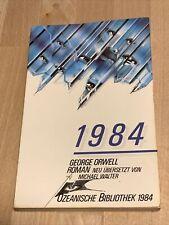 George Orwell, 1984 Ullstein Taschenbuch Science Fiction, Ozeanische Bibliothek