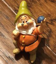New listing Disney Snow White Dwarf Pot Hanger Sitter Figurines Doc Garden Decoration