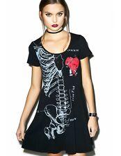 Iron Fist Wishbone 11 Vestido   Negro