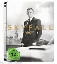 James Bond 007: SKYFALL (Daniel Craig) Blu-ray Disc, Steelbook NEU+OVP