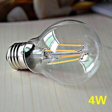 E27 Retro Bulb LED Light COB Edison Filament dimmable Lamp 4W 6W 8W AC110V/220V