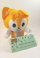 "Tails Sonic the Hedgehog SEGA 5"" Video Game Stuffed Animal Plush Cute Doll Toy"