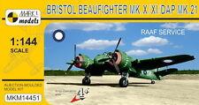 Mark I Models 1/144 Bristol Beaufighter Mk.X/Mk.XI/Mk.21 RAAF Service Model Kit